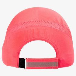 Lauf-Cap verstellbar Erwachsene rosa