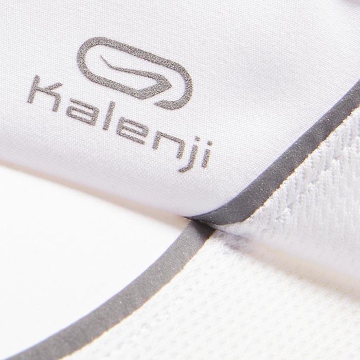Visera Running Kalenji Ajustable Contorno Cabeza 50- 62 cm Blanco