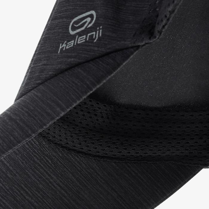Hardlooppet zwart Afstelbaar: hoofdomtrek 51 tot 63 cm heren dames
