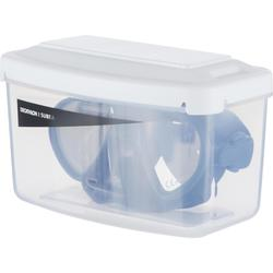Masque d'apnée Freediving petit volume FRD 520 gris tempête