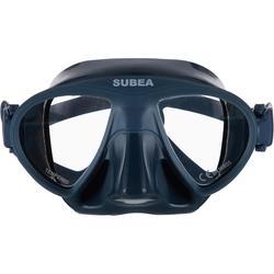 Gafas Apnea Pesca Submarina Compacta Subea FRD 520 Adulto Gris