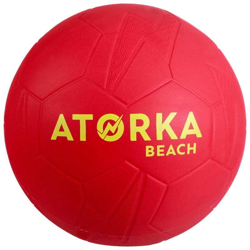 Minge handbal pe plajă HB500B mărimea 2 Roșu