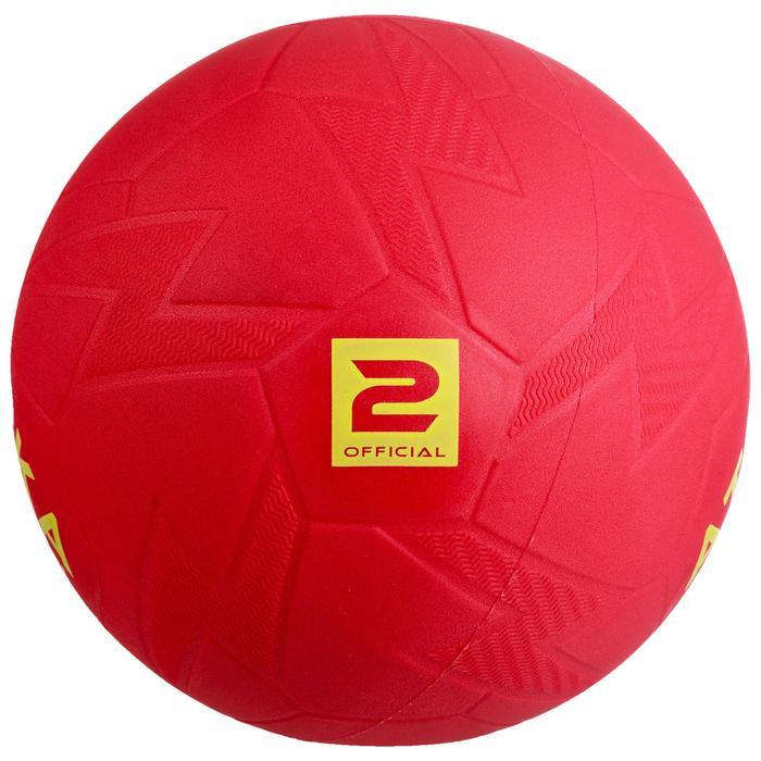 Balón de balonmano playa HB500B talla 2 rojo