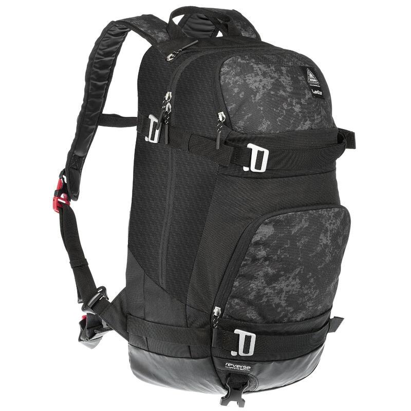 A Ski Backpack - Grey