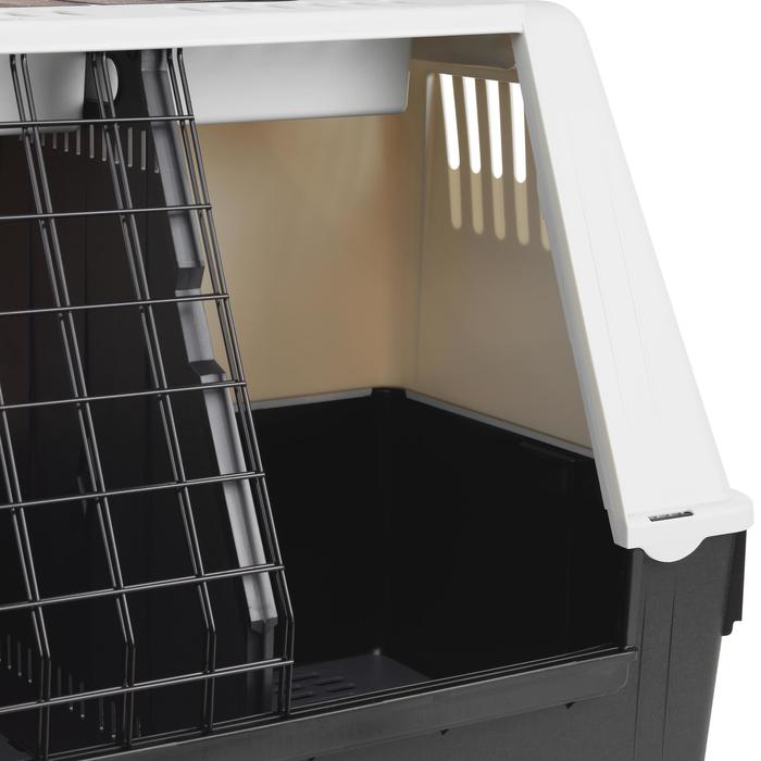 Caisse transport 2 chiens taille L 85x51x61cm