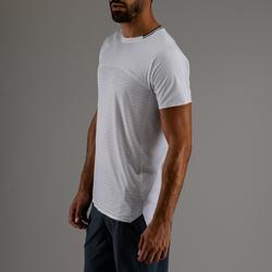 Cardiofitness T-shirt voor heren FTS 920 wit