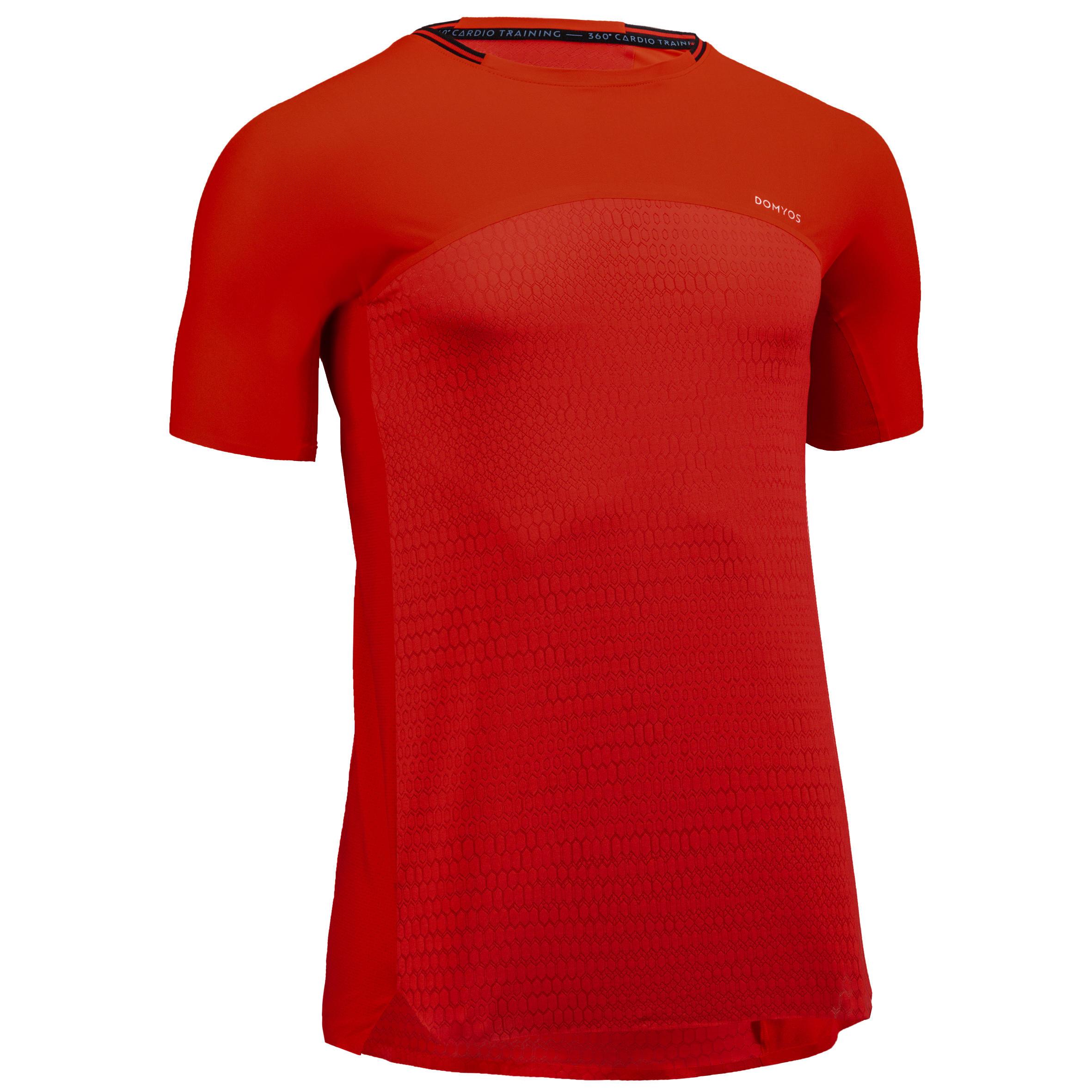 Domyos Fitness shirt FTS 920 voor heren kopen? Leest dit eerst: Fitness kleding Fitness shirt met korting