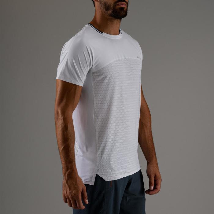 T-shirt voor cardiofitness heren FTS 920 wit