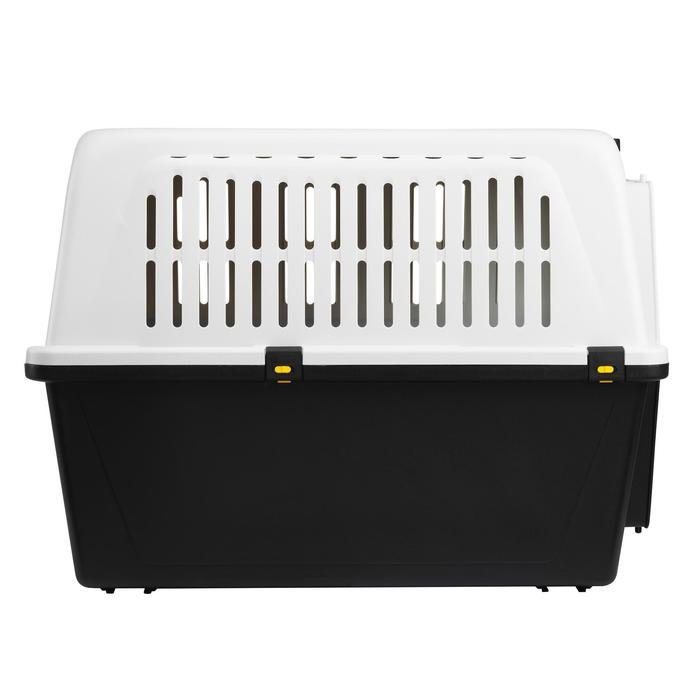 Hundetransportbox für einen Hund Größe L 81×55,5×58cm – IATA-Norm