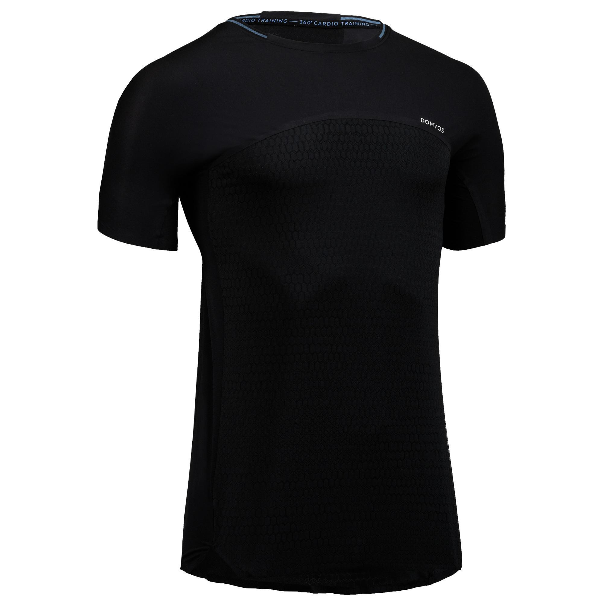 0b7cad34af05dd Domyos fitness shirt fitness shirt fts 920 voor heren. voor fervente  fitnessers, fans van