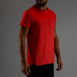 Tee shirt cardio fitness homme FTS 920 rouge