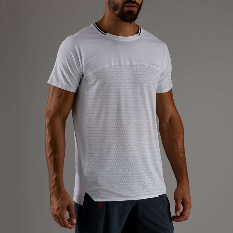 FITNESS CARDIO EXPERT MAN OUTFIT Fitness and Gym - FTS 920 T-Shirt - White DOMYOS - Fitness and Gym