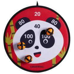 Dartbord klittenband Panda