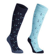 Modre in turkizne nogavice 500 za deklice