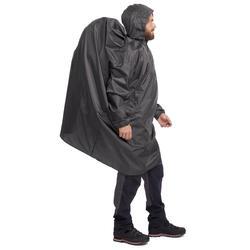 Mountain Trekking Rain Cape 40 L Arpenaz Size XS - Grey