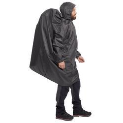 Arpenaz 40 Litre Waterproof Poncho XXS/XS - Grey