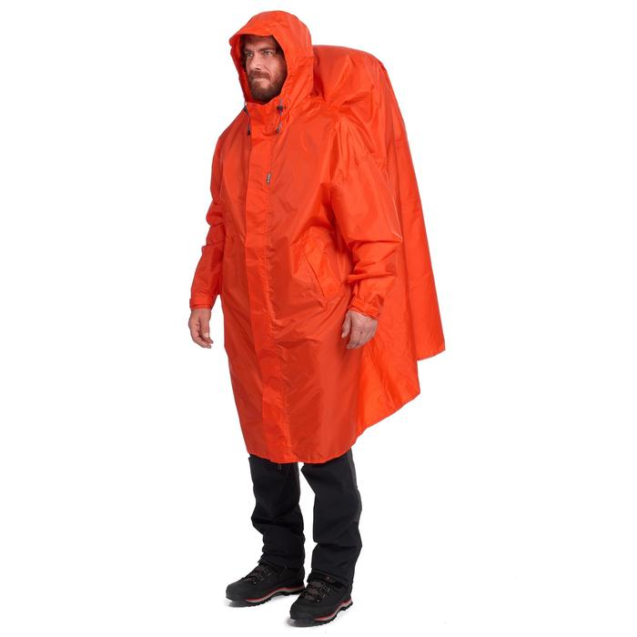 Arpenaz 75 Litre Waterproof Poncho L/XL- Red