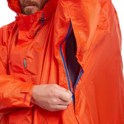 Poncho pluie de randonnée FORCLAZ 75 rouge Taille P/M