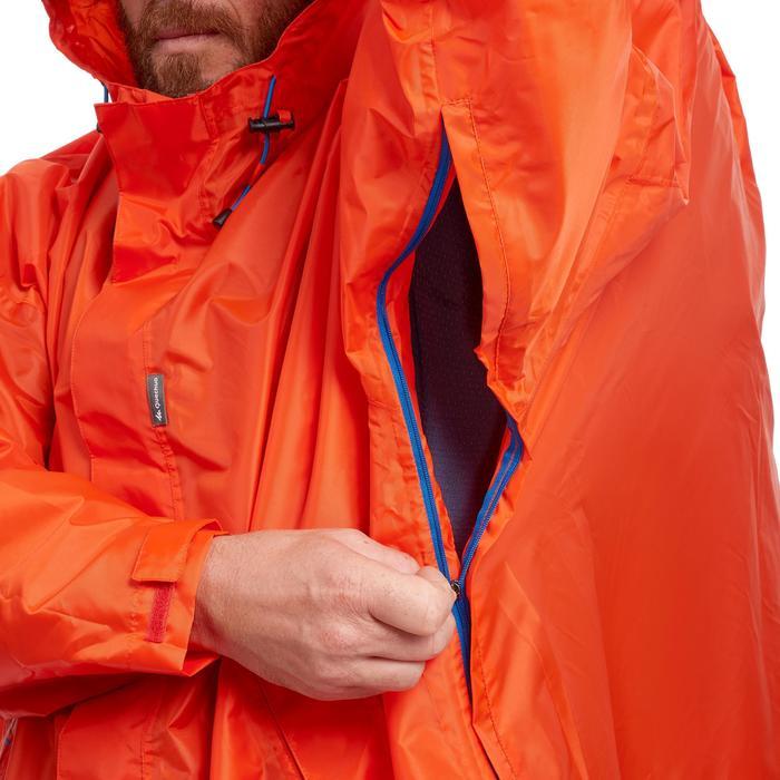 Capa Lluvia Montaña y Trekking Quechua Forclaz 75 L L/XL Roja