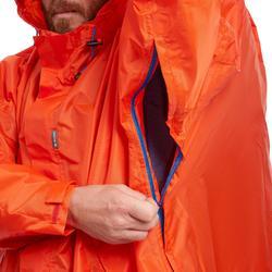 Capa Lluvia Montaña y Trekking Quechua Forclaz 75 L S/M Roja