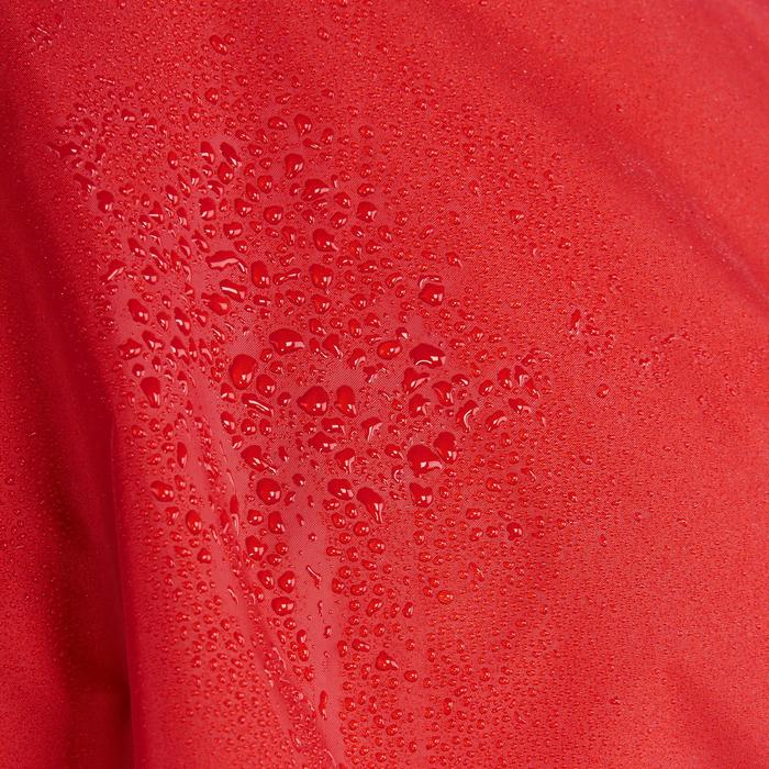 Poncho voor bergwandelen en -trekking volwassenen Arpenaz 25 liter rood