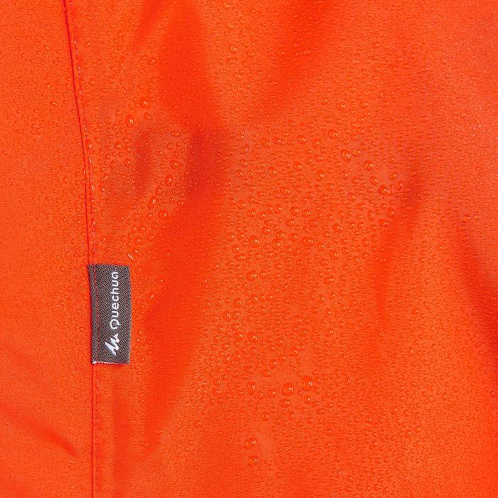 Poncho pluie de randonnée - FORCLAZ 75 rouge Taille L/XL