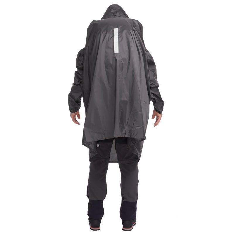 เสื้อปอนโชสำหรับเดินป่ารุ่น ARPENAZ 40L ขนาด L/XL (สีเทา)