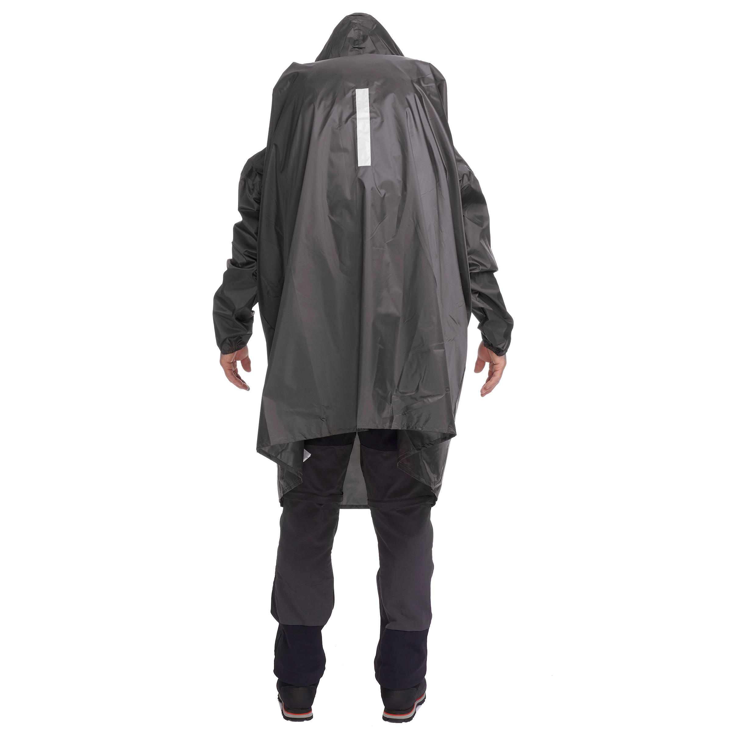 Arpenaz Hiking and Mountain Trekking 40 Litre L/XL Rain Cape - Dark Grey