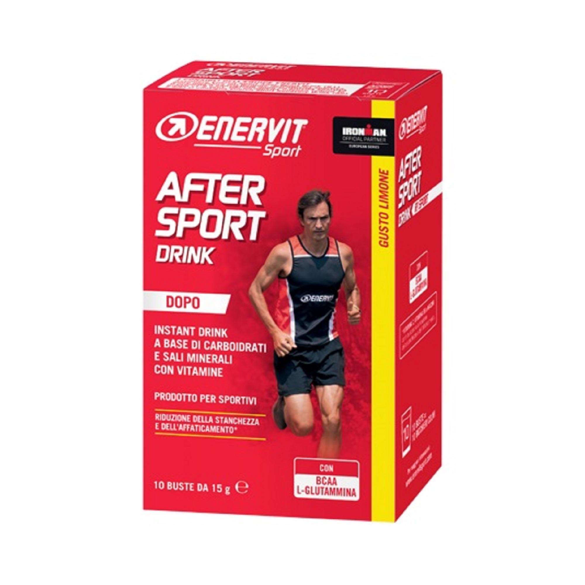 ENERVIT. Bevanda per il recupero in polvere After Sport R1 Limone buste 10x15g Enervit