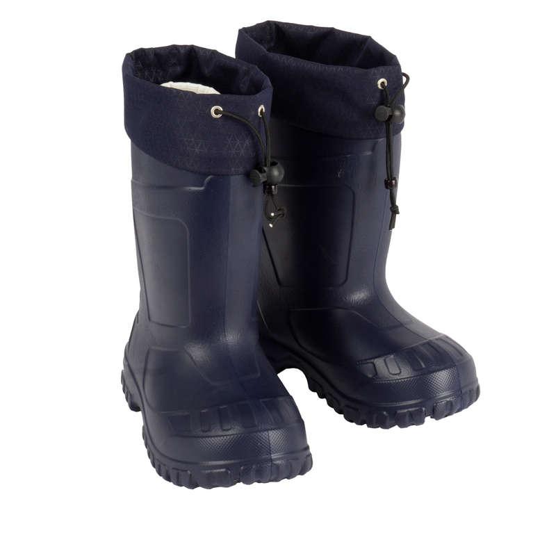 ДЕТСКАЯ ОБУВЬ \ ЗИМНИЕ ПОХОДЫ Походы, треккинг, кемпинг - Сапоги SH100 x-warm QUECHUA - Одежда и обувь