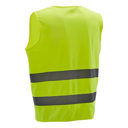 500 Hi-Vis Cycling Gillet - EN1150 Yellow