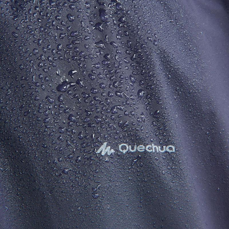Adult Hiking Rain Poncho 50 - 10 L - blue