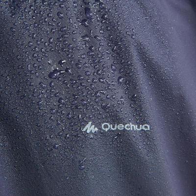 Adult hiking rain poncho - ARPENAZ 10L - Blue
