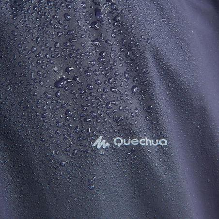 """Pieaugušo pārgājienu lietus pončo """"Arpenaz"""", 10l, zils"""