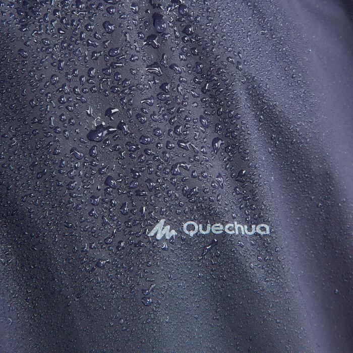 Poncho lluvia de senderismo - ARPENAZ 10L azul adulto