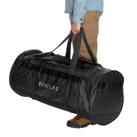 Trekinga transportēšanas soma, 120l, melna