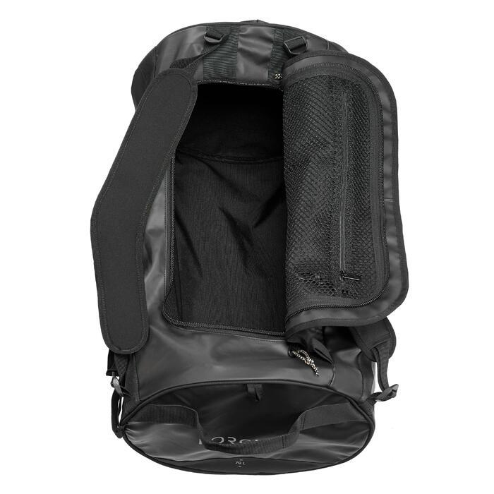 Reistas voor trektochten - 70 l - zwart