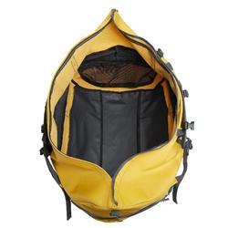 Reistas Extend voor trekking - 80 tot 120 liter - geel