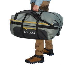 Sac de transport Trekking Voyage extend 80 à 120 litres gris