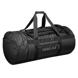 Trekkingtasche Duffel 120 Liter schwarz