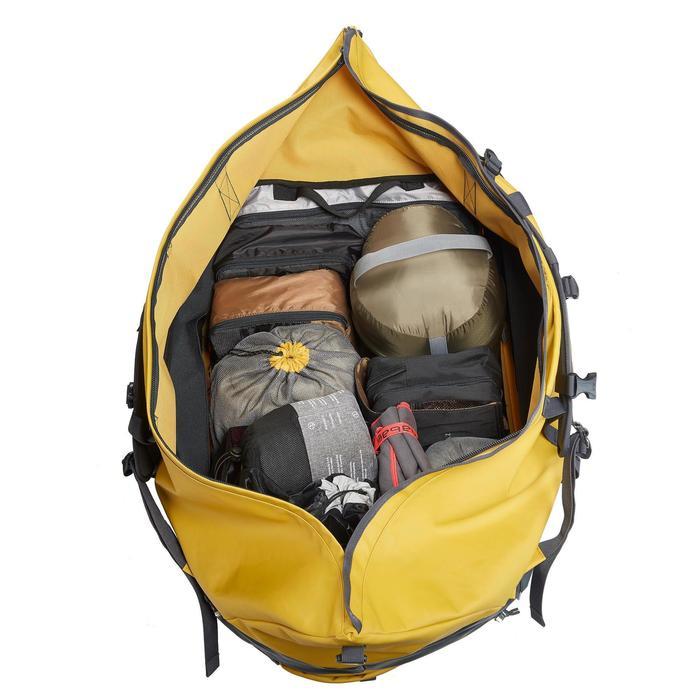 Transporttasche Trekking Extend 80/120 Liter gelb