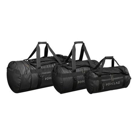 Trekinga ceļa soma, 70l, melna