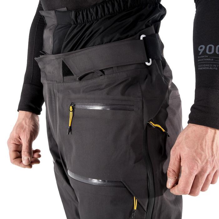 Pantalon de ski Freeride et free randonnée homme PA 900 gris