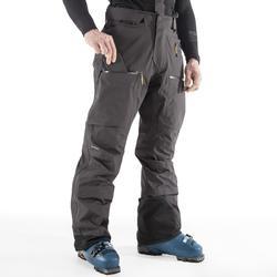 Pantalón Nieve y Esquí Wed'ze FR 900 2 piezas hombre gris