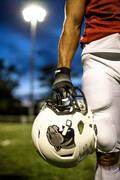 AMERICKÝ FOTBAL Americký fotbal - KALHOTY AF550PA BÍLÉ KIPSTA - Oblečení a rukavice na americký fotbal