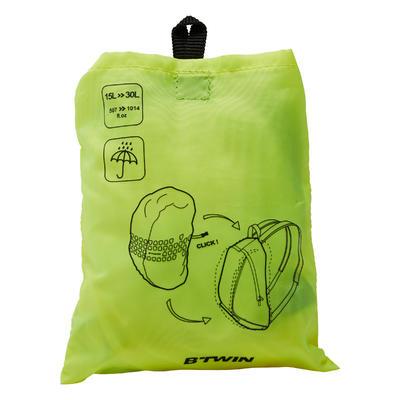 כיסוי לתיק 15 ליטר - 35 ליטר - צהוב ניאון