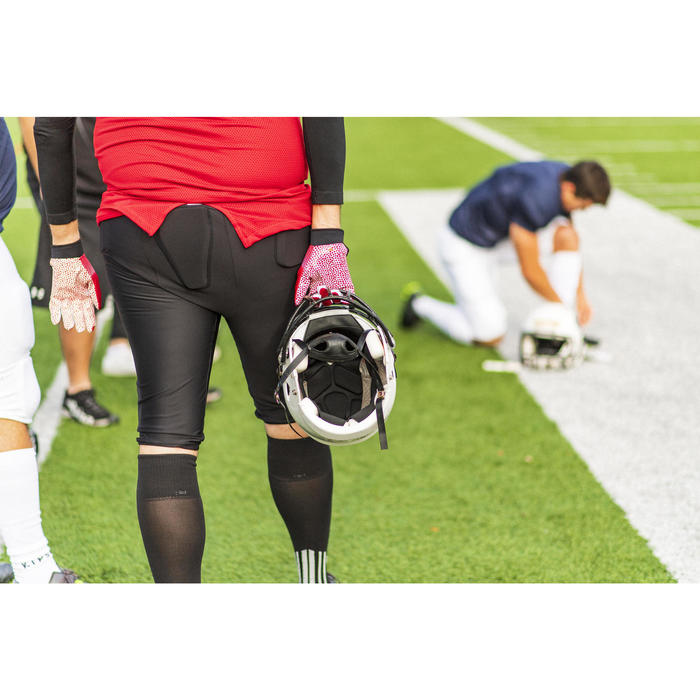 Hose American Football 550 PA Erwachsene schwarz
