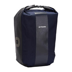 500 Pannier Rack 20L Waterproof Bike Bag - Blue