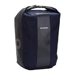 Fahrradtasche Gepäcktasche Trekking Bike Bag 500 wasserdicht 20 Liter marineblau