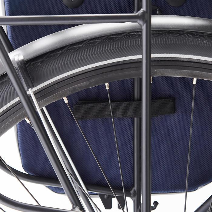 Fahrradtasche Gepäcktasche 500 20 Liter wasserdicht blau